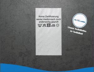 Textil-Label.de Behelfsmasken Etiketten Gesichsmasken