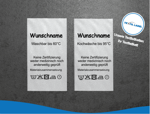 Textil-Label.de Behelfsmasken Etiketten Gesichsmasken GM-6095