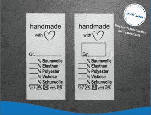 Handmade Etikett universal U011012