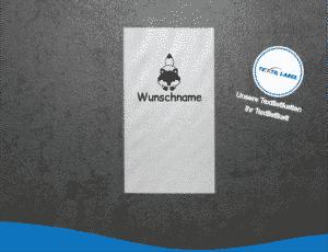 Wunschname Fuchs W016 Namensetiketten