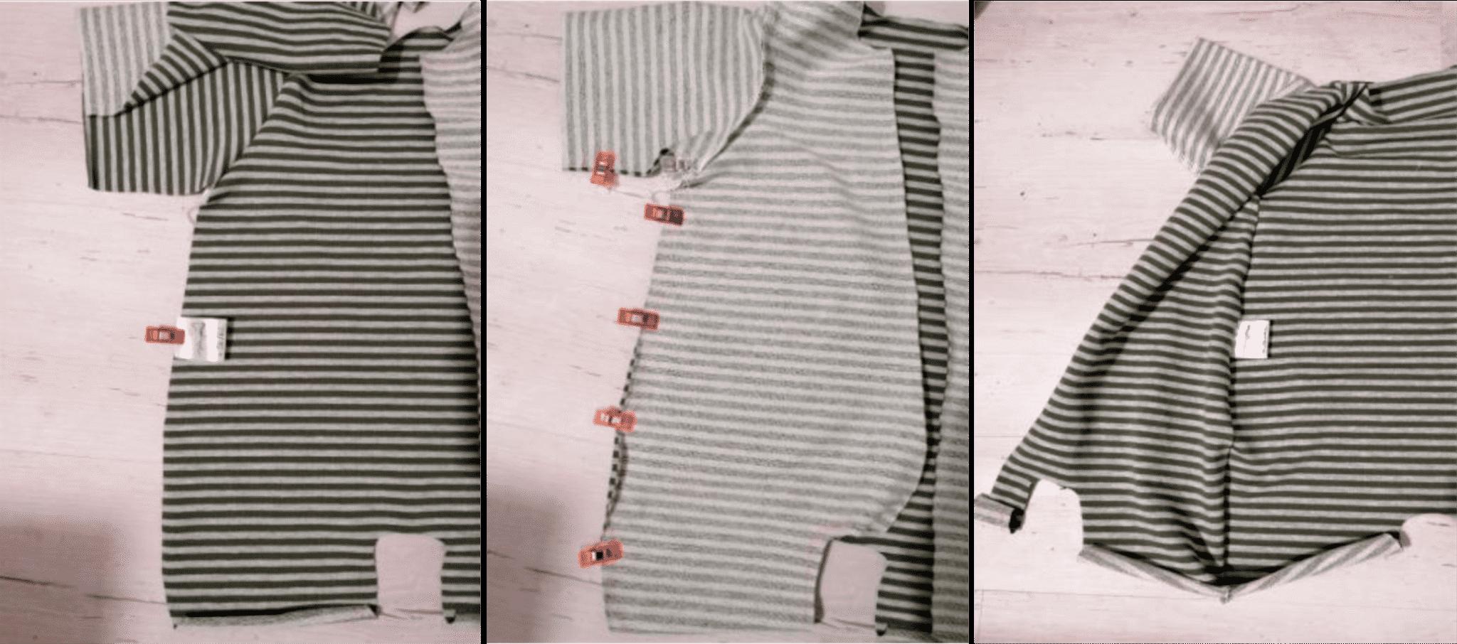 Anleitung zum Einnähen von Textiletiketten Anleitung Bild 3