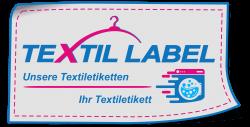 Textiletikettten zum einnähen Logo Textil-Label.de