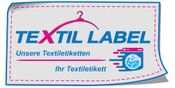 Textiletikettten Logo Textil-Label.de